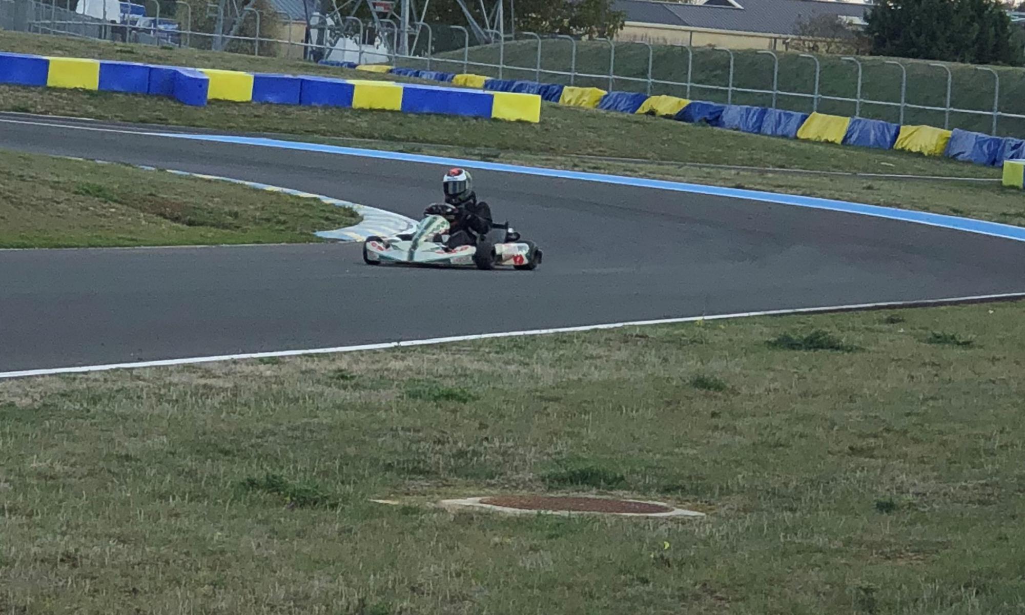 Thierry Michalak Karting
